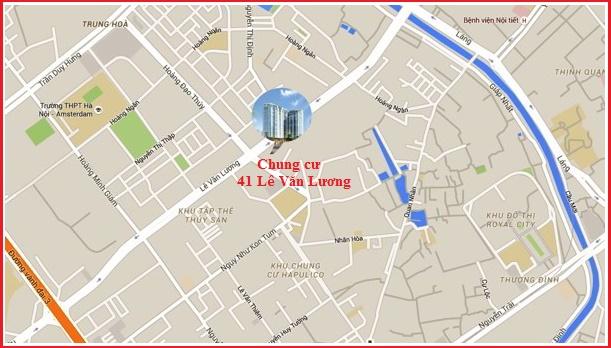 Vị trí chung cư BRG Park Residence