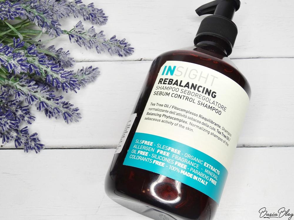szampon Insight Rebalancing, szampon do włosów przetłuszczających się