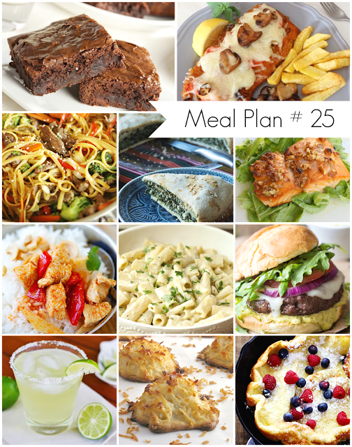 Ioanna's Notebook - Weekly Meal Plan #25