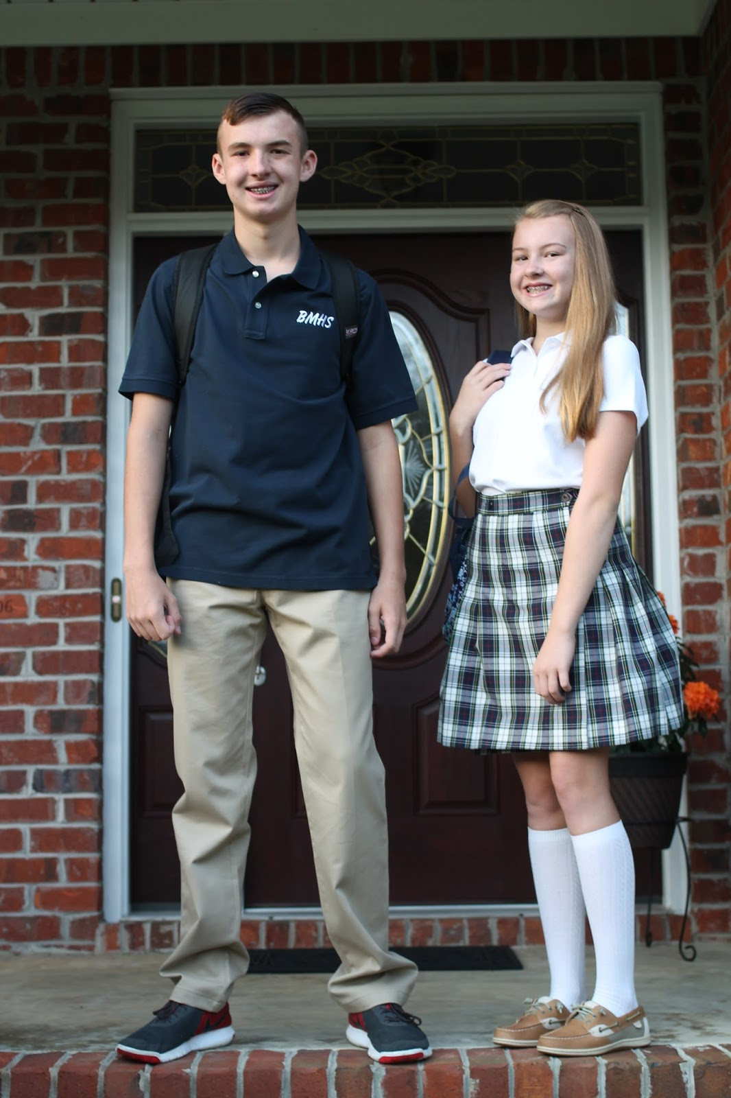 A Moms Life First Day Of High School And 8th Grade Oh My