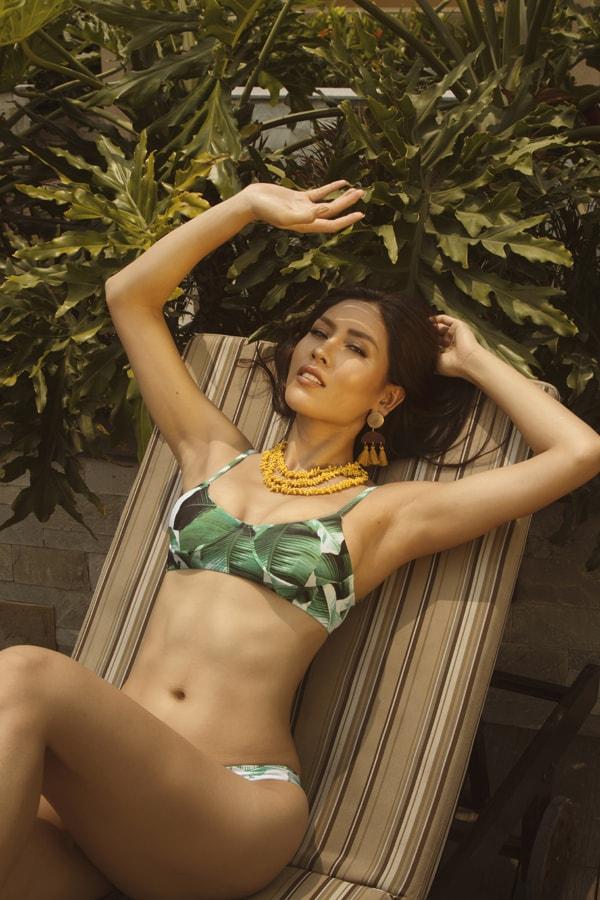 Á hậu Nguyễn Thị Loan tung loạt ảnh nóng bỏng khoe thân hình đẹp tự nhiên -6