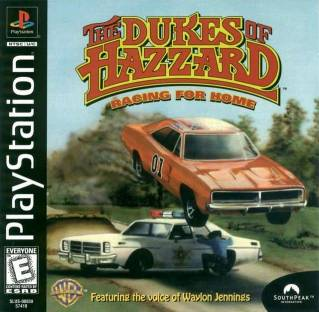 The Dukes of Hazzard Racing for Home - PS1 - ISOs Download