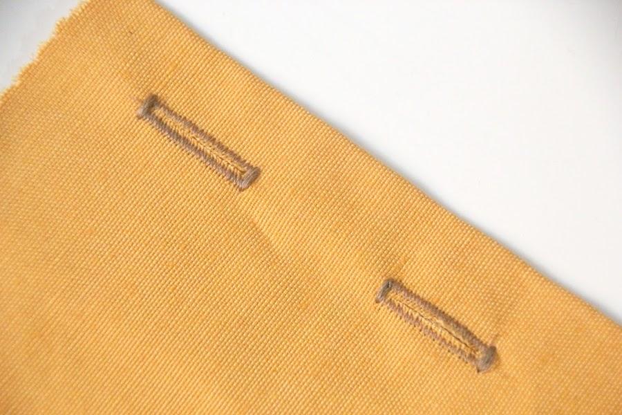 Clase de costura: aprender a coser prensatelas hacer ojales
