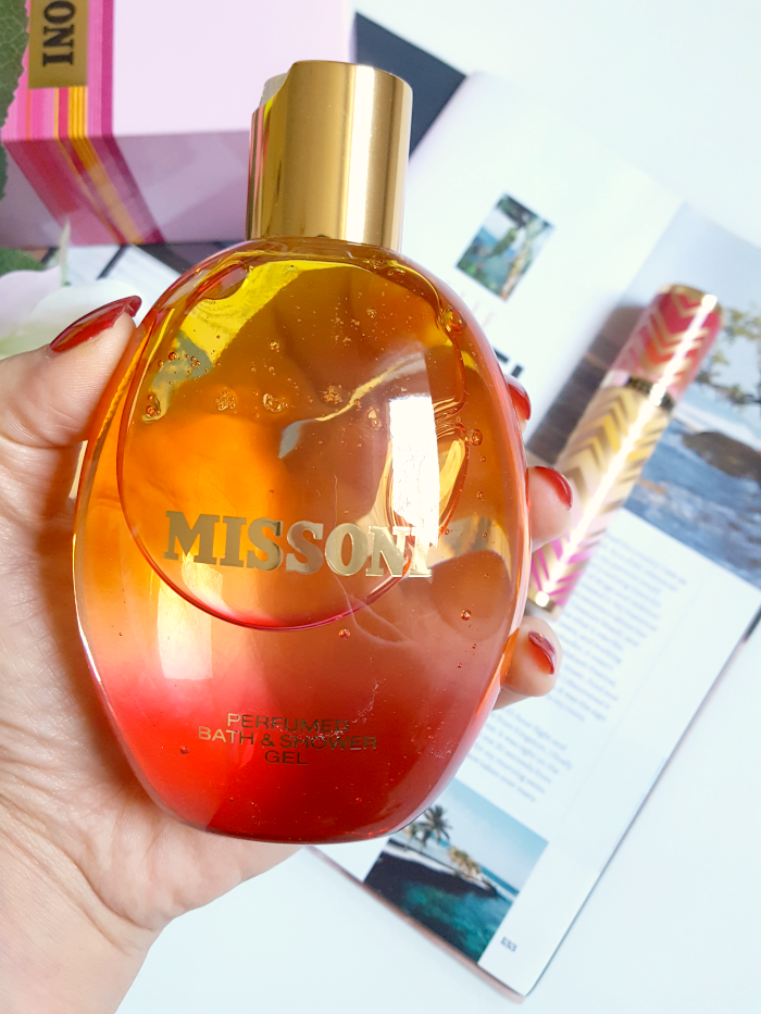 Review: MISSONI Women - Perfumed Bath & Shower Gel - 250 ml - ca. 25.- Euro