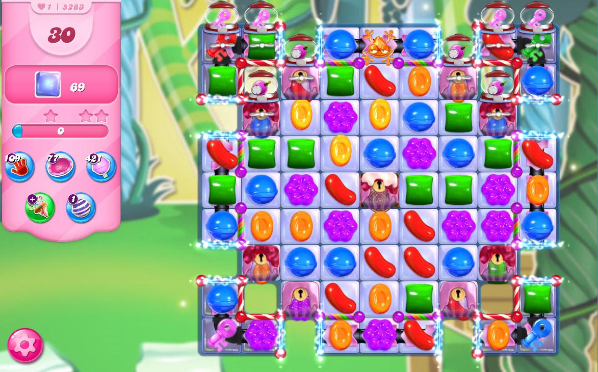 Candy Crush Saga level 5258