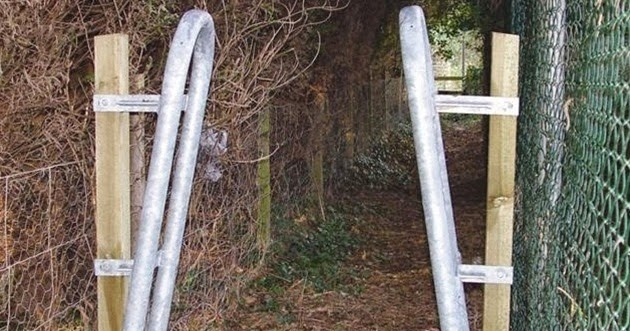 Garden Fencing Gates And More Restricting Access To