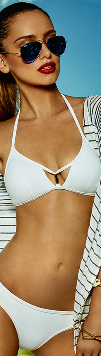 Jets Swimwear Illuminate White Bikini