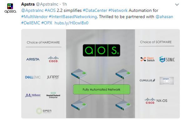 Converge! Network Digest: Apstra brings multi-tenant EVPNs