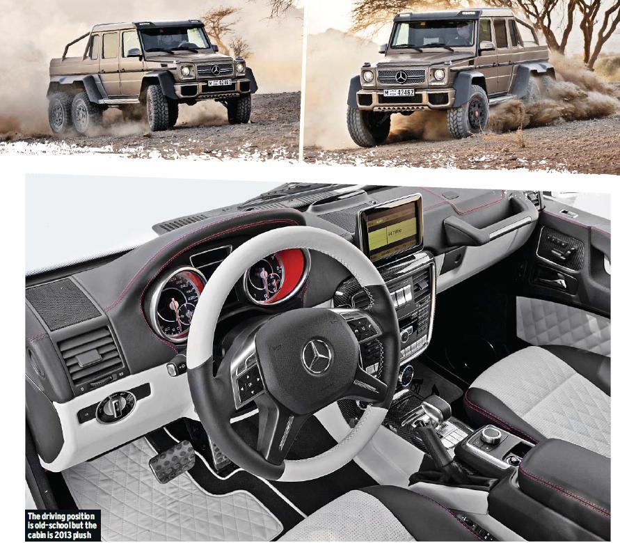 Mercedes-Benz G63 AMG 6x6 Brochure ~ Automotive
