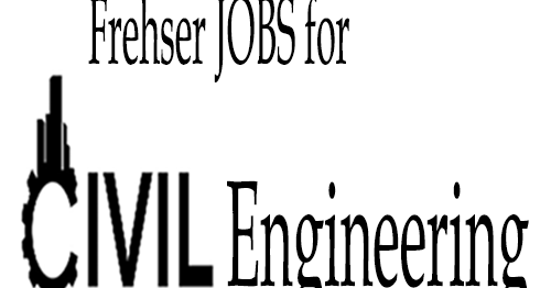 Urgent Requirement For Fresher Civil Engineer