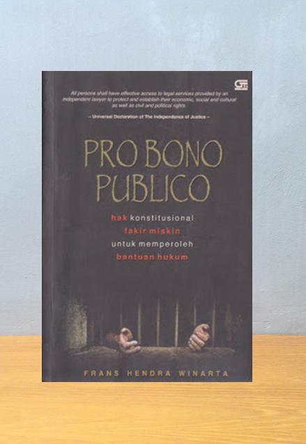 PROBONO PUBLICO, Frans Hendra Winarta