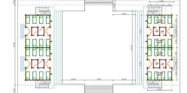 Jasa Desain Pondok Pesantren Minimalis  Banyumas 2020