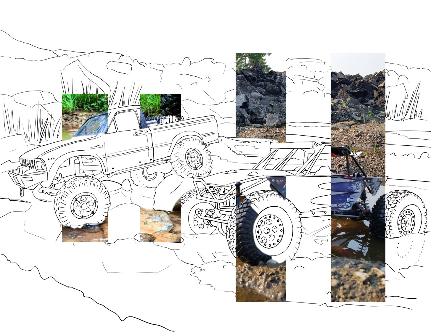 SHEEPISH ANIMATION: Utah RC Coloring Book: Artist Process