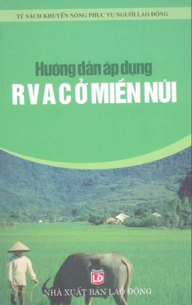 """Bìa tài liệu """"Hướng dẫn áp dụng RVAC ở miền núi"""""""