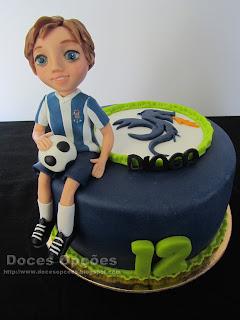bolo decorado magnifico futebol clube do porto bragança