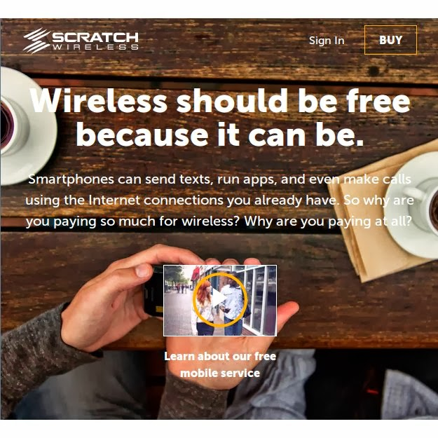 Scratch Wireless Launches Free WiFi-First Mobile Service