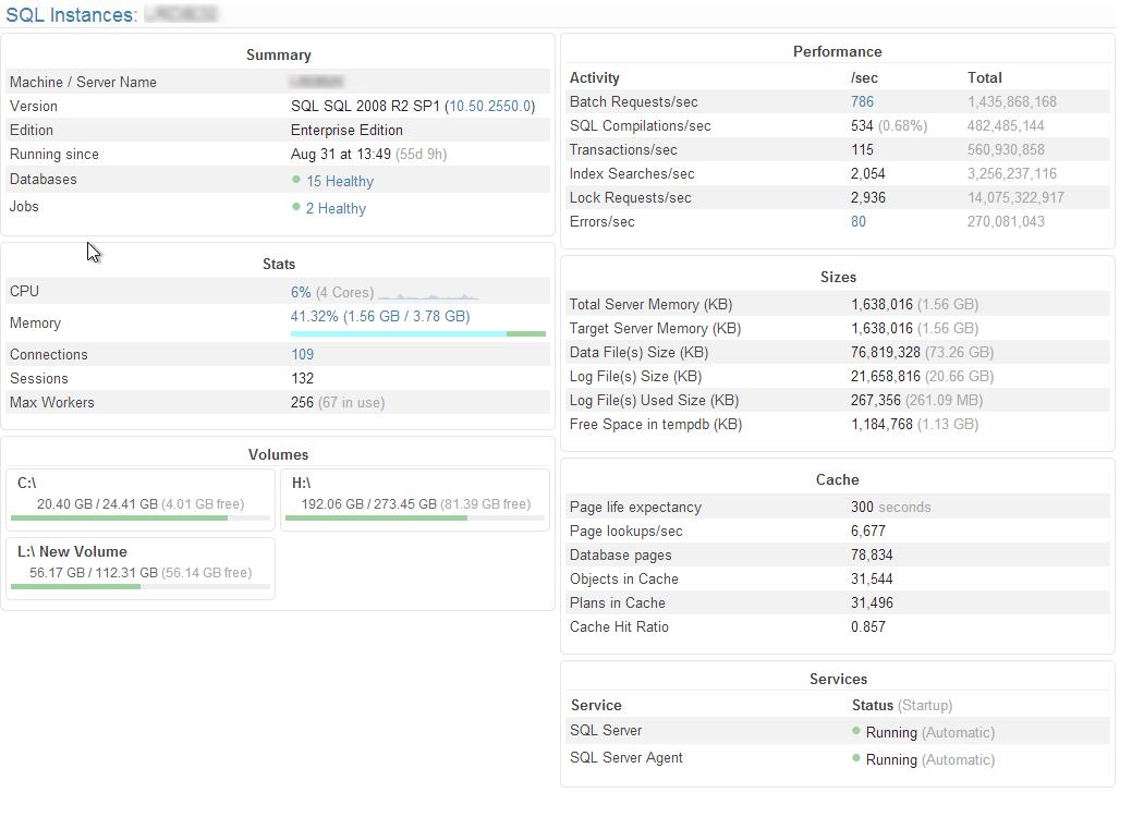 Opserver - SQL area, part 2