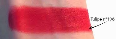Rouge à lèvres Boho Green 106 Tulipe