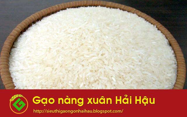 Gạo nàng xuân Hải Hậu