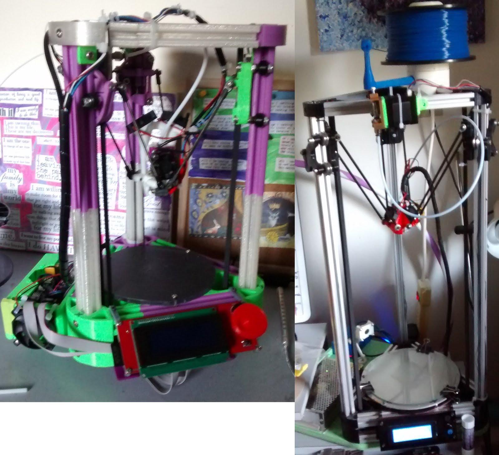 Delta 3d printer calibration the easy way
