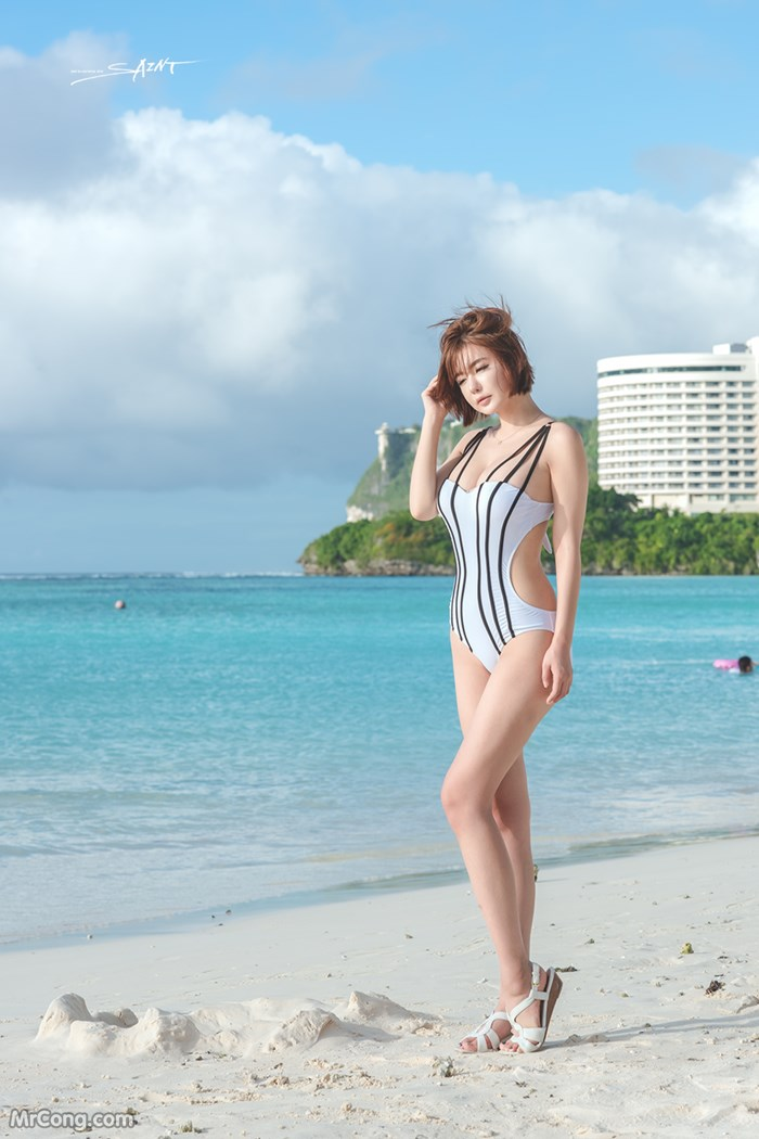 Image Ryu-Ji-Hye-Hot-Thang-4-2017-MrCong.com-004 in post Người đẹp Ryu Ji Hye nóng bỏng khoe dáng cùng trang phục tắm biển 4/2017 (35 ảnh)