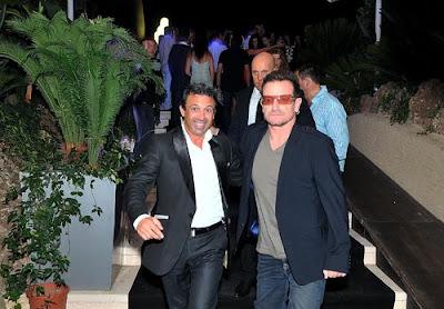 Bono en Monaco 2011