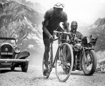Resultat d'imatges de ciclismo antiguo izoard