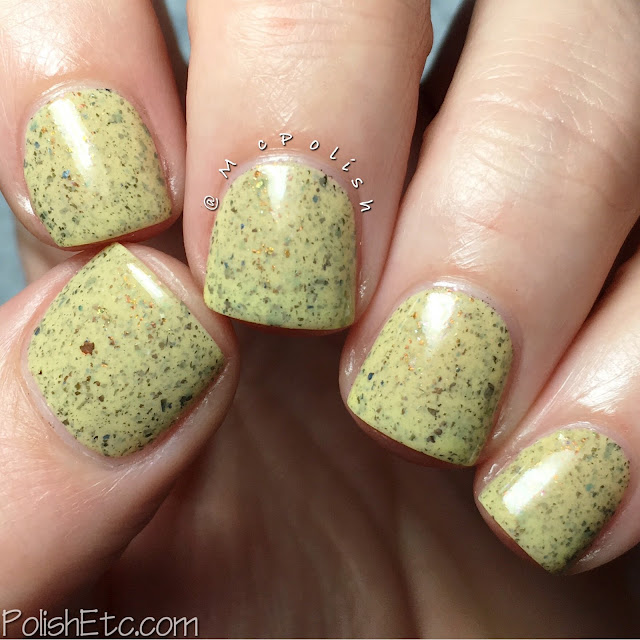 Great Lakes Lacquer - The Sunset Dissected Collection - McPolish - The Last Sliver of Sun
