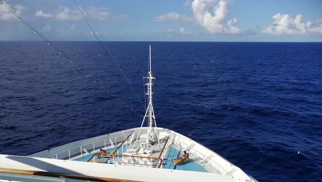 Seetag auf der Costa Magica: Blick aufs Meer