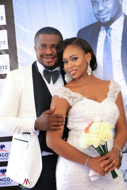 Aliko Dangote Attends Wedding Of Son Of Nigeria's Biggest Cement Distributor