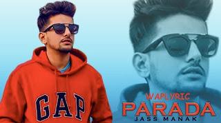 Parada Song Lyrics