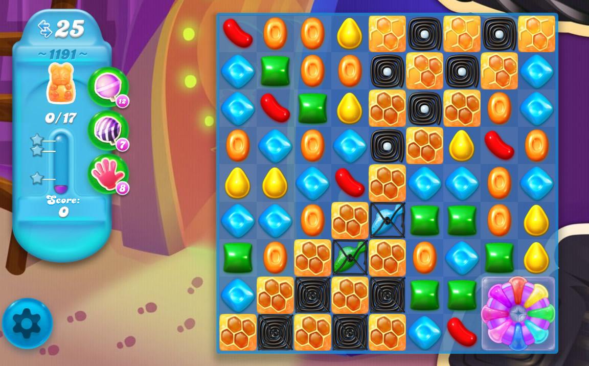 Candy Crush Soda Saga level 1191