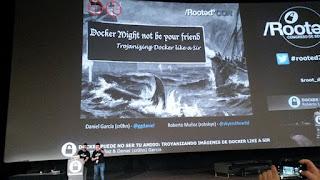 RooteCon 2017 - Daniel García y Roberto Muñoz - Docker puede no ser tu amigo