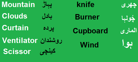 Carry Meaning in Urdu - اٹھانا oothaana Meaning, English ...