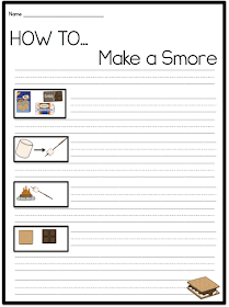 Sarah's First Grade Snippets: Who Doesn't Love a Smore?