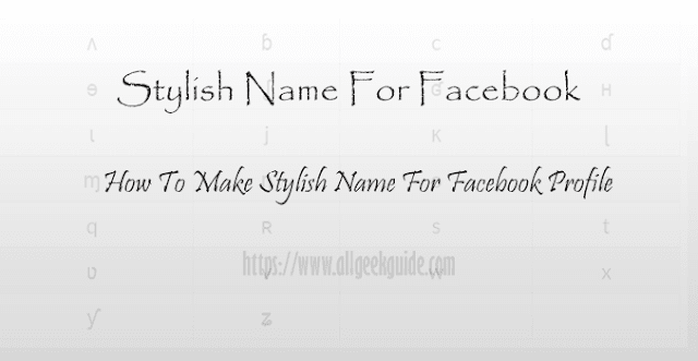 stylish-name-for-facebook-profile