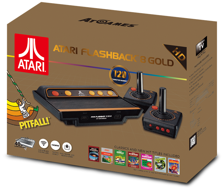We Review The Atari Flashback 8 Gold Console