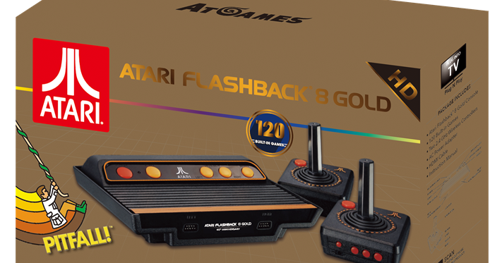 Atari Edge We Review The Atari Flashback 8 Gold Console