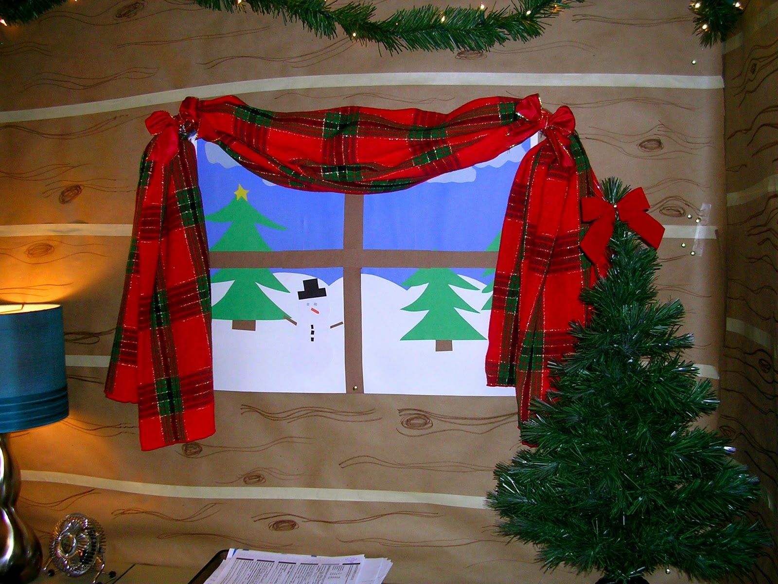 lovely office cubicle christmas decorating ideas | they call me socially awkward.: A Cubicle Christmas - Part 1