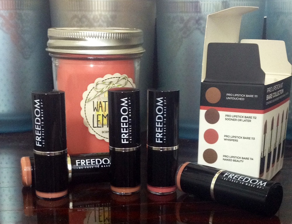 839569b7e24 Some time ago, the cosmetics brand Freedom Makeup sent me some products to  try out and review. I have received in quite a short time (1 week from the  UK to ...
