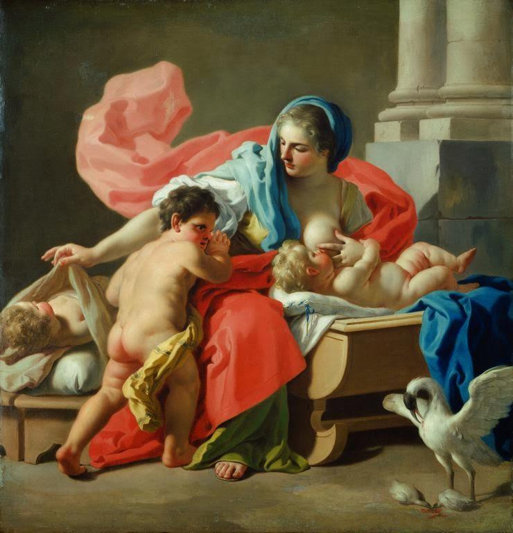 Francesco de Mura - La Caridad