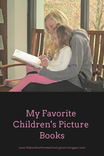 My Favorite Children's Picture Books from The Barefoot Mom