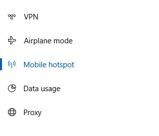 How to turn on WiFi Hotspot in Windows 10 with anniversary Update. 3