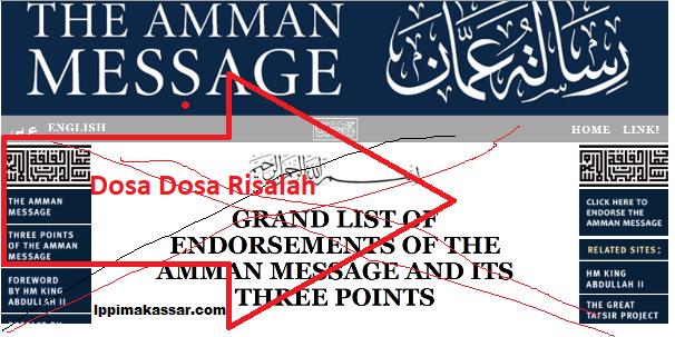 ٌRisalah Amman Mengingkari Ijma Para Ulama Salaf Tentang Kafirnya Syiah