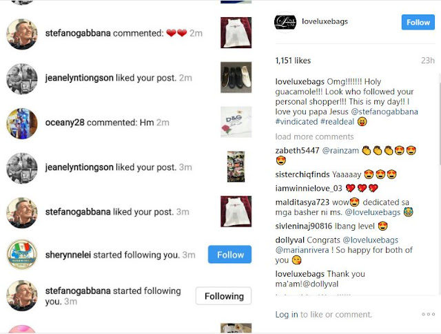 The Founder of Dolce & Gabbana Follows Marian Rivera and Heart Evangelista's Instagram Accounts After the Fake D&G Controversy!