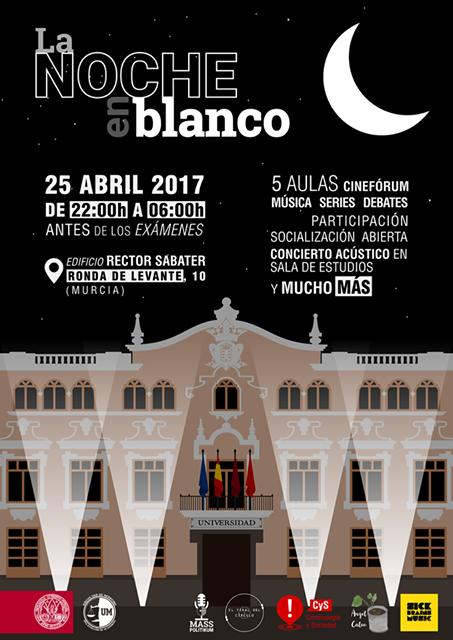 Los Delegación de Alumnos de la Facultad de Derecho celebra La Noche en Blanco.