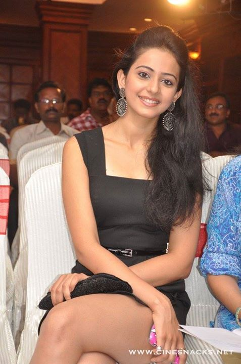 Rakul Preet Singh in Black dress