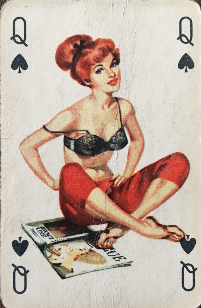 Queen Of Spades !