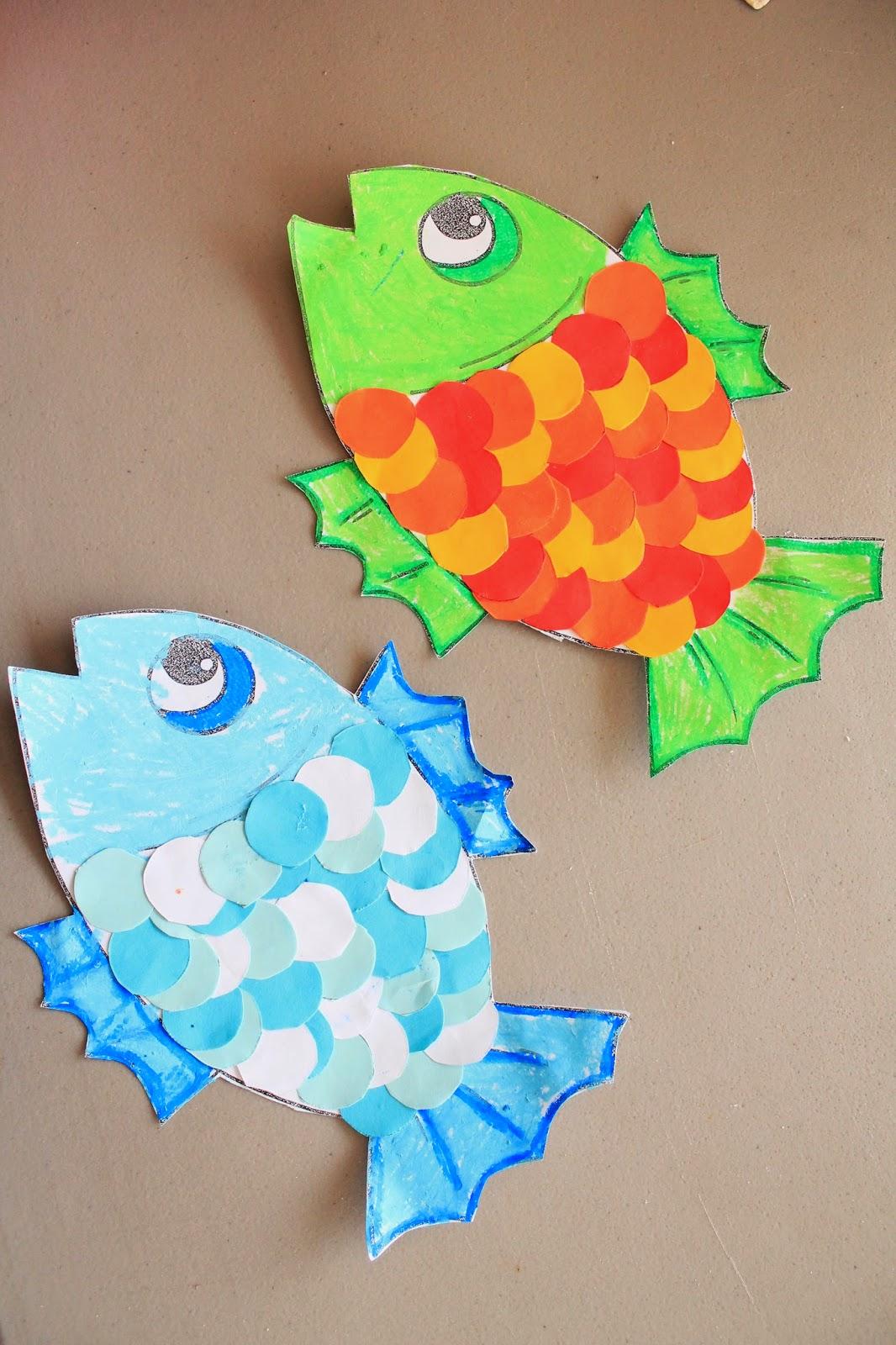 Makingmamamagic Fish Cutting Skills Activity