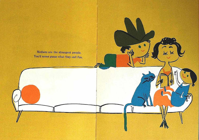 An Abner Graboff illustration from Mothers Are That Way